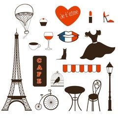 set of symbols of Paris