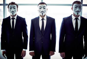 Anonymous trio