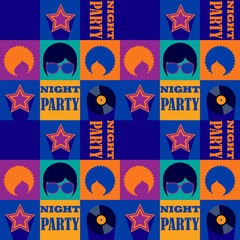 night party pattern