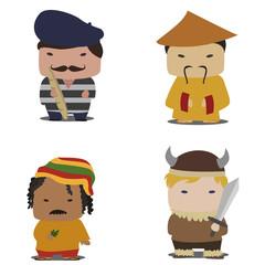 cartoon nation characters