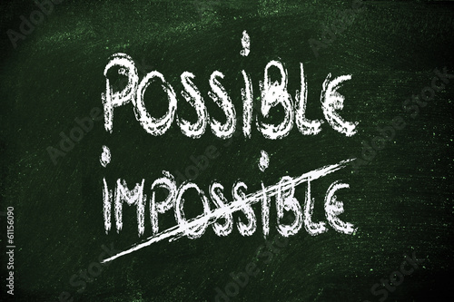 possible or impossible?
