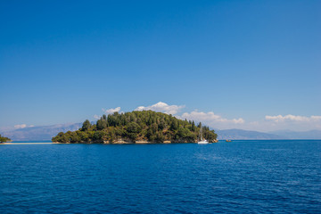 The Scorpios island in Nidri Lefkada