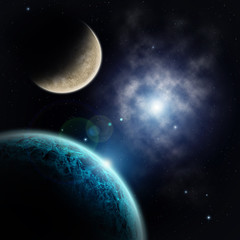 View on extrasolar planets and star dust