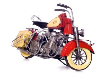 Model of a motorbike