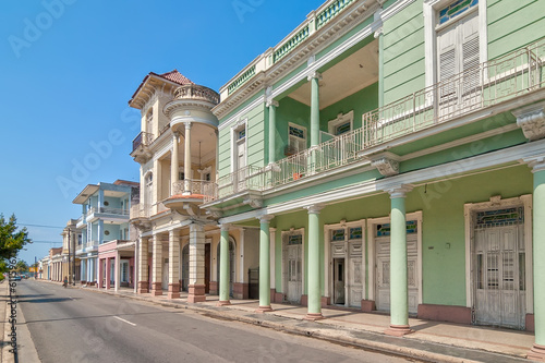 Traditional colonial style buildings located on main street