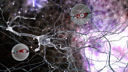neurons and nanobots