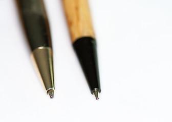 Pointes de différents stylos