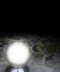Fortune Telling with Tarot Cards and Ball