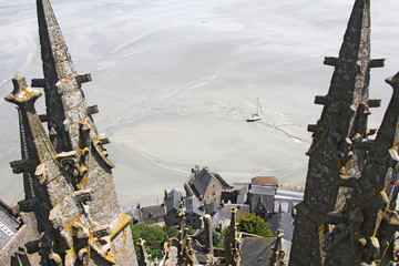 Towers Mountain Saint Michel