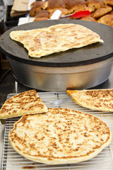 Arabian bread - Semolina Pan-Fried Flatbread