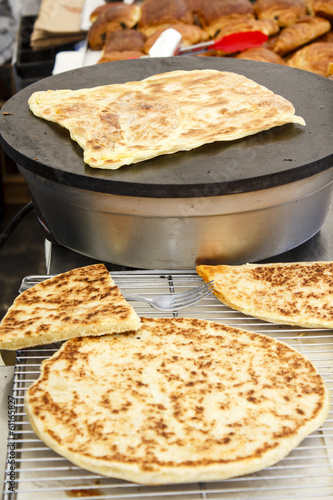 Arabian bread - Semolina Pan-Fried Flatbread