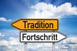 Wegweiser mit Tradition und Fortschritt