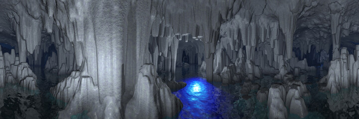 Fancy cave
