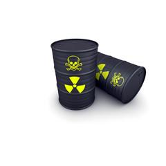 barili di scorie nucleari
