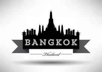 Modern Bangkok Skyline Design