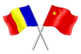 Flags: Romania and China