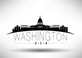 Modern Washington Skyline Design