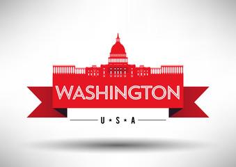 Modern Washington Skyline Design