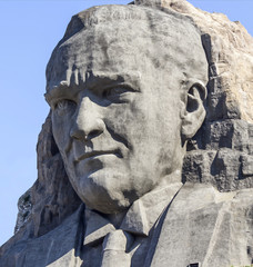 IZMIR, TURKEY : Ataturk relief
