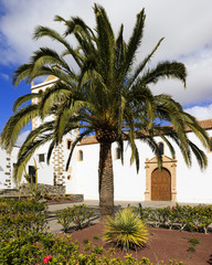 Betancuria,old capital of Fuerteventura, Canary island