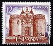 Postage stamp Spain 1977 Bisagra Gate, Toledo