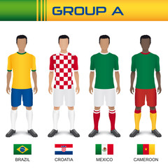 Football 2014 - Group A