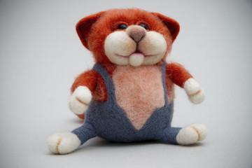 Toy handmade from felt