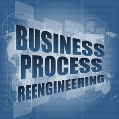 business process reengineering interface hi technology