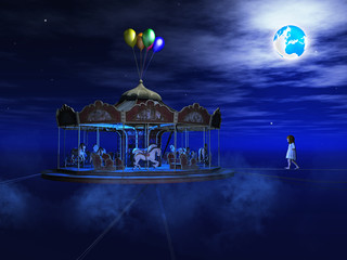 the carousel in the sky