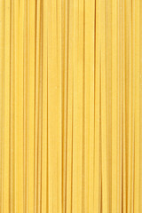 Linguine or spaghetti pasta background