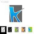 K. Logo