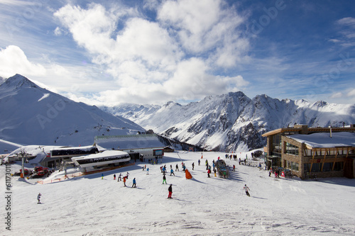Foto op Aluminium Wintersporten Ischgl ski resort