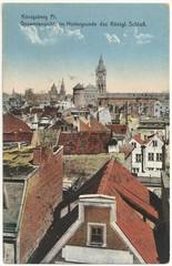 Königsberg, Gesamtansicht 1915 (col. Postkarte)