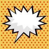 Fototapety pop art comic speech bubble