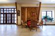 Luxury retro hotel hall