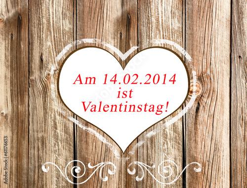 14.02 ist Valentinstag