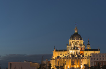 Almudena Cathedral, Madrid