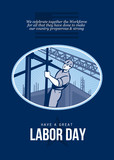 Celebrating Labor Day Greeting Card