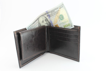 The last banknote in the wallet