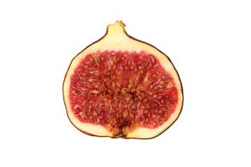 detail of fresh fig