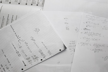Math learn paper
