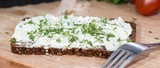 Cream Cheese with garden Cress