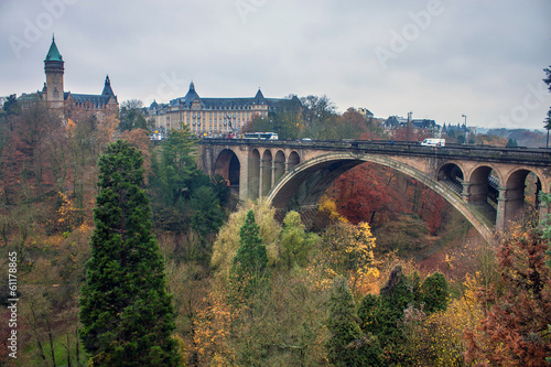 Papiers peints Pont Adolphe bridge in Luxembourg