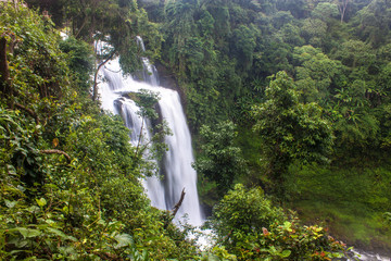 Tat Yuang waterfall in Laos