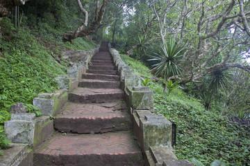 Stairs to Mount Phousi, Luang Prabang, Laos