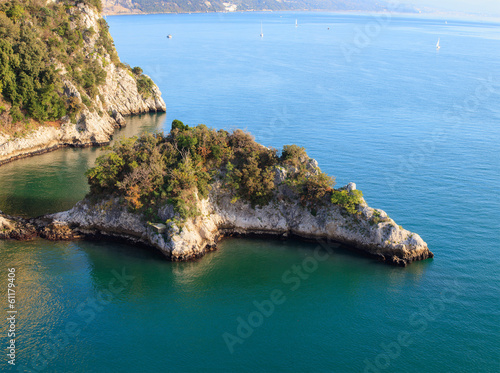 Coast under Duino castle