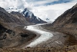 Durung Drung Glacier near Pensi La pass on Zanskar road