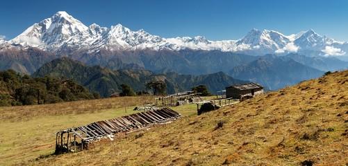 Dhaulagiri and Annapurna Himal - Nepal