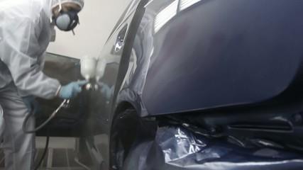 Car varnishing