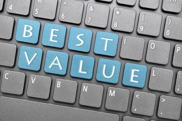 Best value on keyboard